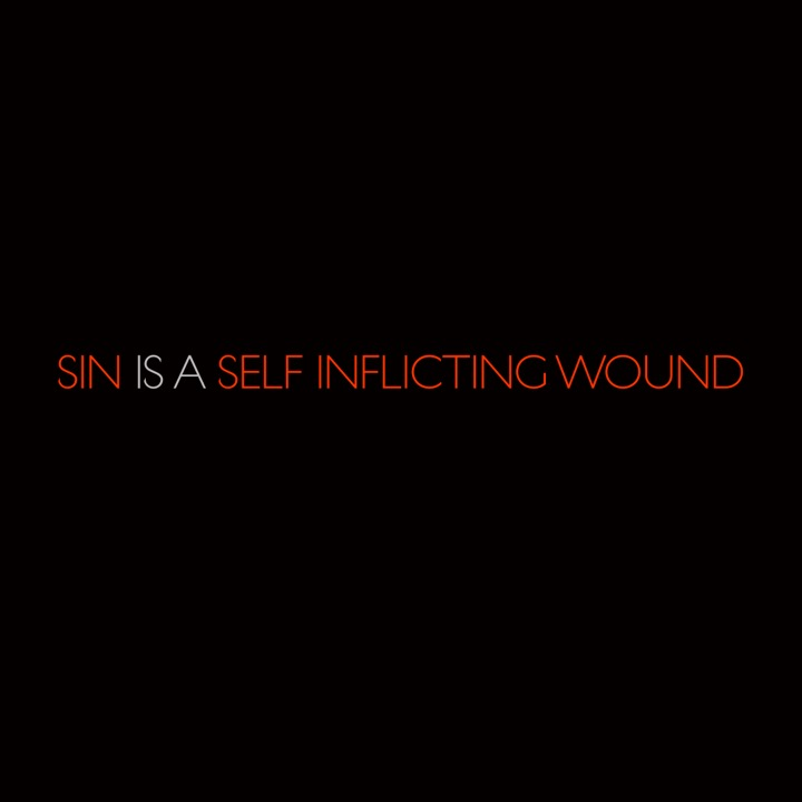 sin is a self inflicting wound   salcedo on quipio