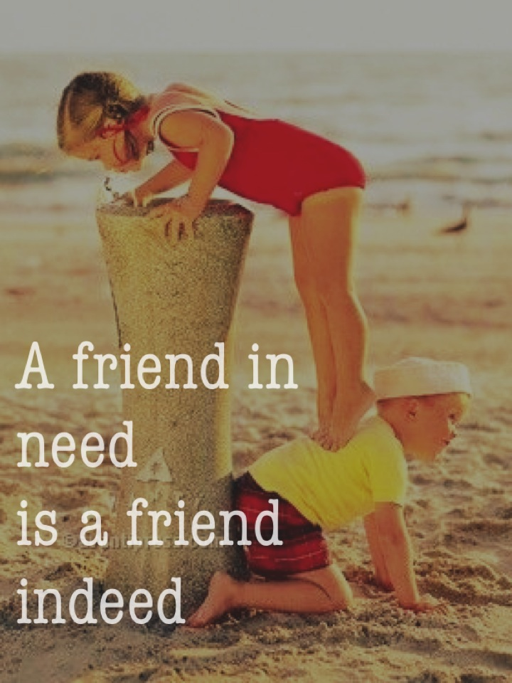 A Friend in Need is a Friend Indeed - National Center for ...