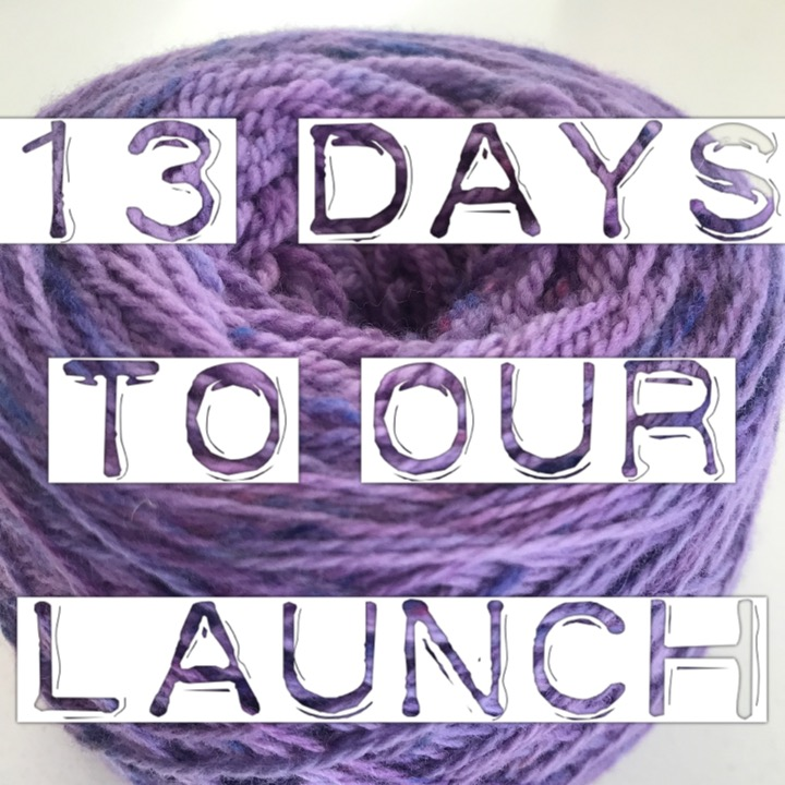 13 days to our launch