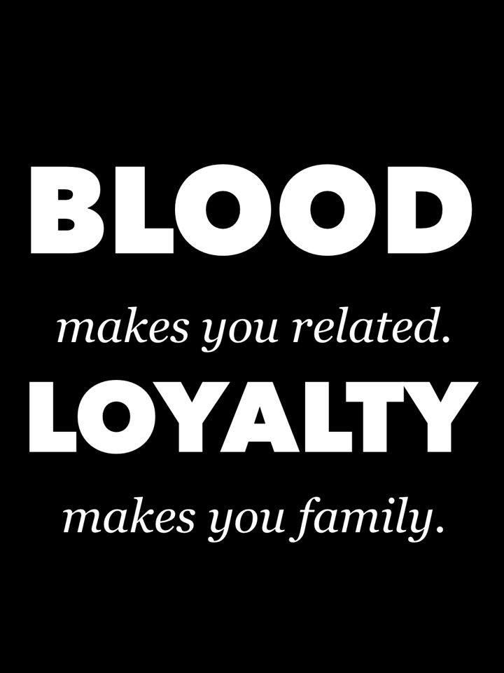 You Don39t Have To Be Blood To Be Family Quotes Amp Sayings T