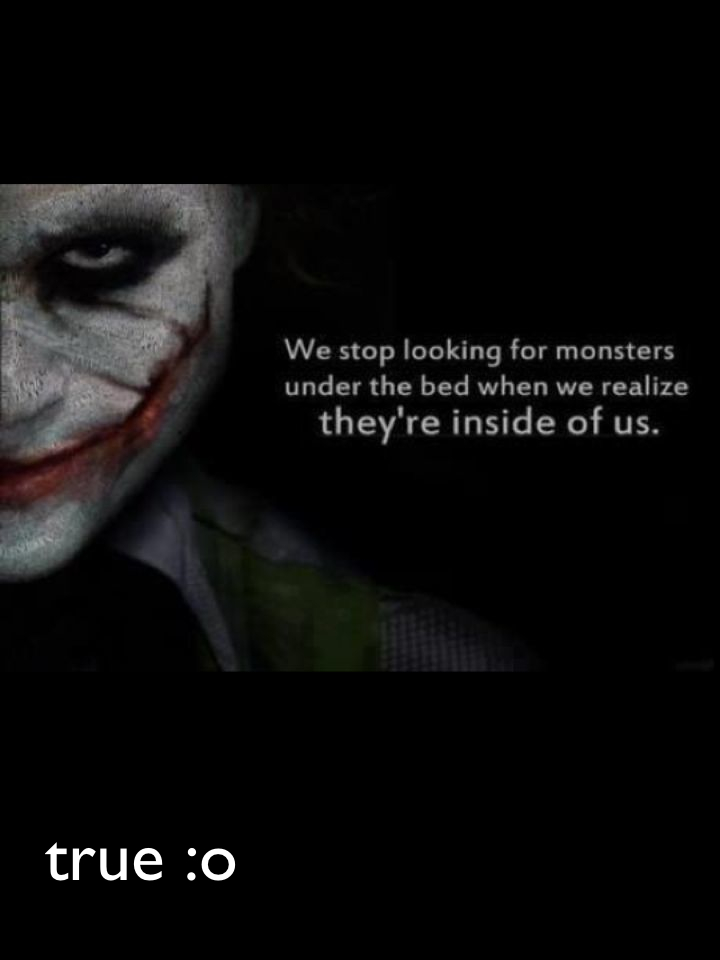 true :o