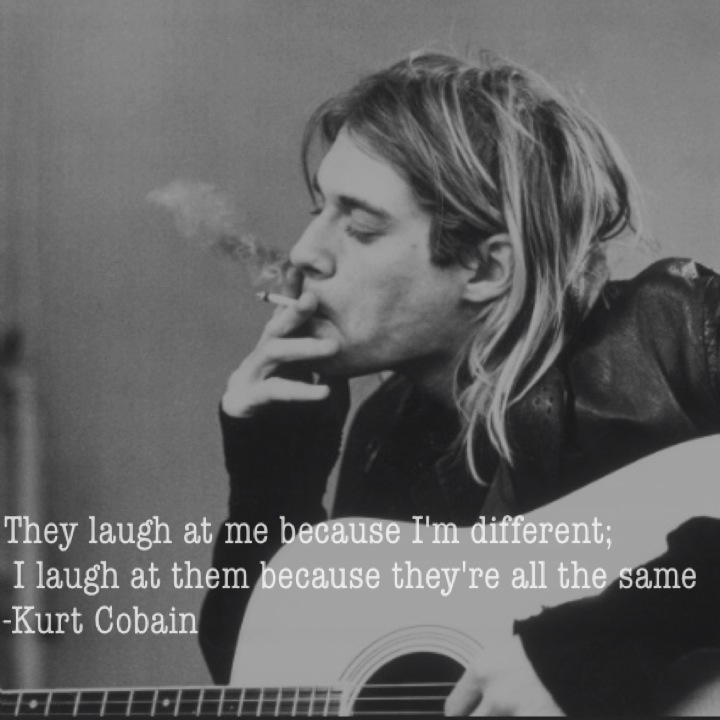 a very brief story about kurt cobain drug problems