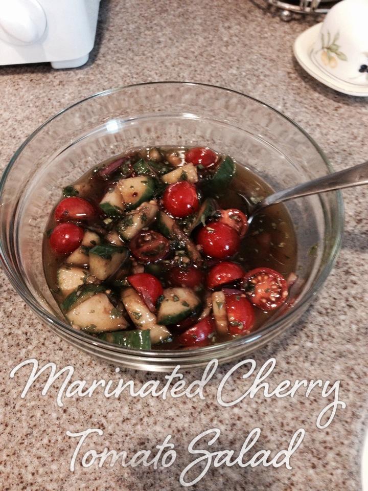 Marinated Cherry Tomato Salad - JHess on Quipio