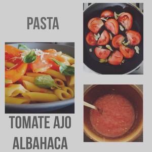 Tomate Ajo Albahaca