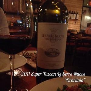 """2011 Super Tuscan Le Serre Nuove """"Ornellaia"""""""