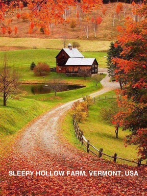 Sleepy Hollow Farm, Vermont, USA