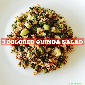 3 Colored Quinoa Salad