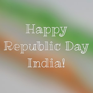 Happy Republic Day India!
