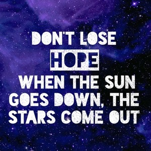 Image result for when the sun goes down the stars come up