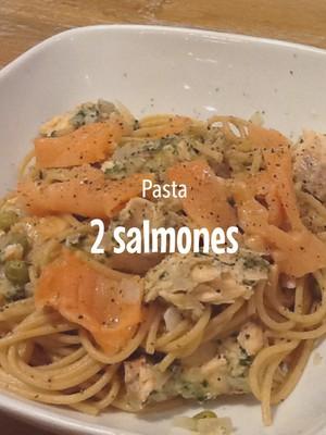 Pasta 2 salmones