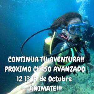 CONTINUA TU AVENTURA!! PROXIMO CURSO AVANZADO 12 13 14 de Octubre ANÍMATE!!!