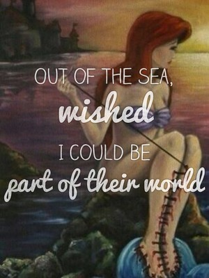 Out of the sea, wished I could be part of their world