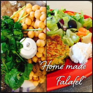 """Home made Falafel"""