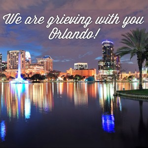 We are grieving with you Orlando!