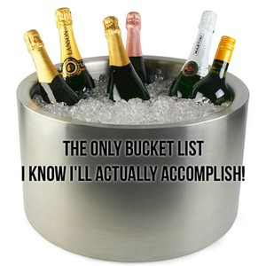 The only bucket list I know I'll actually accomplish!
