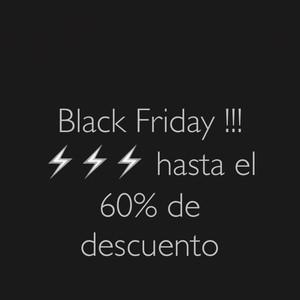 Black Friday !!!⚡️⚡️⚡️ hasta el 60% de descuento