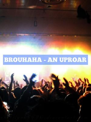 Brouhaha - An uproar