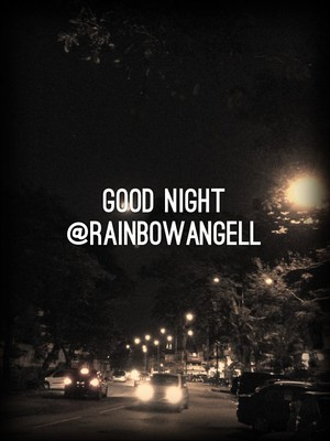 Good night @RainbowAngell