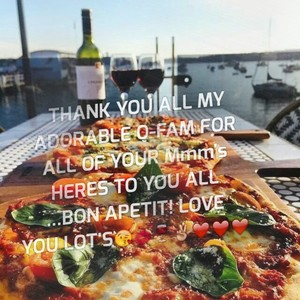 THANK YOU ALL MY ADORABLE Q-FAM FOR ALL OF YOUR Mmm's HERES TO YOU ALL ...BON APETIT! LOVE YOU LOT'S😘💋🍷✌️❤️❤️❤️