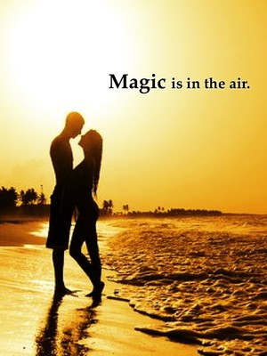 Magic is in the air.