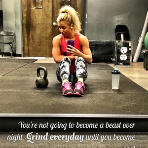 You're not going to become a beast over night. Grind everyday until you become one!